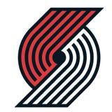 Редакционный - блейзеры следа NBA Портленда иллюстрация штока