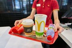 Ресторан McDonald стоковое фото rf