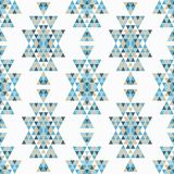 Ethnic boho seamless pattern. Patchwork texture. Weaving. Traditional ornament. Tribal pattern. Folk motif. Can be used for wallpaper, textile, invitation card stock illustration