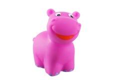 Рubber bath toys, hippo Royalty Free Stock Photos