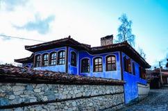 Тraditional bulgarian house Royalty Free Stock Photo
