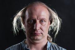 Ñ- razy Mann Lizenzfreies Stockfoto
