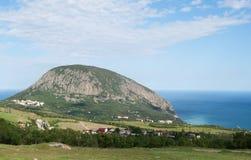 Ñ  rimean岩石风景,山Ayu Dag 库存图片