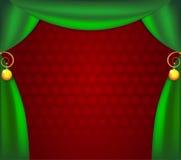 Ñhristmas_curtains Стоковое фото RF
