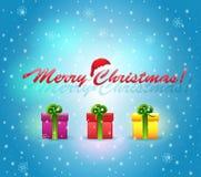 Ñhristmas_gifts2 Стоковая Фотография