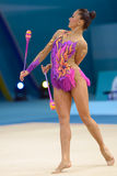 3ò campeonato mundial da ginástica rítmica Imagem de Stock Royalty Free