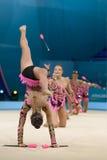 3ò campeonato mundial na ginástica rítmica Fotografia de Stock Royalty Free