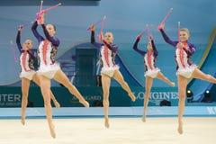 3ò Campeonato mundial na ginástica rítmica Imagem de Stock