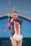 3ò Campeonato mundial na ginástica rítmica Fotos de Stock