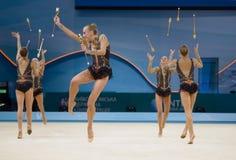 3ò Campeonatos mundiais da ginástica rítmica Foto de Stock Royalty Free