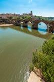 2ò da ponte de agosto de 1944 em Alby, França Fotografia de Stock Royalty Free