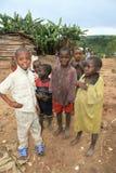 ò Novembro 2008. Refugiados do Dr. Congo Imagem de Stock