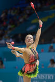 3òs campeonatos mundiais da ginástica rítmica Fotografia de Stock Royalty Free