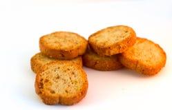 Żółci baguettes na białym tle Zdjęcia Royalty Free