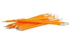 Żółci ołówki zdjęcie stock