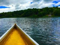 Żółta łódź Zdjęcie Royalty Free