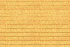 Żółta abstrakcjonistyczna bezszwowa zaszyta skóra Zdjęcia Stock