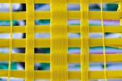 Żółta arkana wyplata Zdjęcia Royalty Free