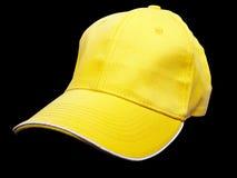 Żółta baseball nakrętka obraz stock