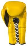 Żółta bokserska rękawiczka zdjęcia stock