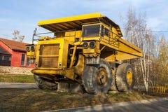 Żółta dumper ciężarówka 04 Obraz Stock