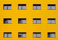 Żółta fasada Zdjęcie Royalty Free
