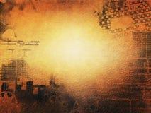 Miastowa grunge ściany powierzchnia Obraz Stock