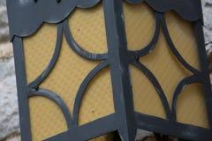 Żółta lampa Zdjęcia Royalty Free
