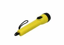 Żółta latarka zdjęcie stock