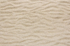 Żółta morze plaży piaska fala dla tekstury i tła Zdjęcia Royalty Free