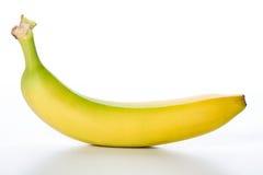Żółta owoc świeży banan Zdjęcia Stock