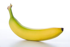 Żółta owoc świeży banan Obrazy Royalty Free