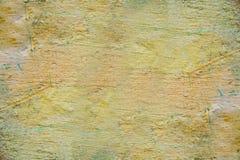 Żółta piękna tło tekstura Fotografia Stock
