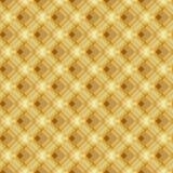 Żółta tekstura. Wektorowy bezszwowy tło Obrazy Stock