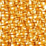 Żółta tekstura. Wektorowy bezszwowy tło Zdjęcie Stock