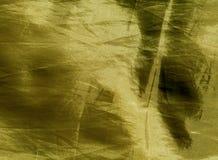 Żółta Tekstylna tekstura Obrazy Royalty Free