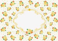 Żółte ślubne róże Obrazy Royalty Free
