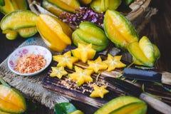 Żółte Gwiazdowe owoc Obraz Royalty Free