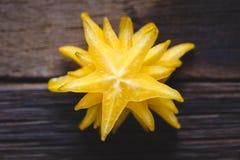 Żółte Gwiazdowe owoc Obraz Stock
