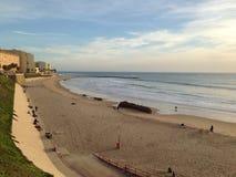 Żółte piasek plaże obraz royalty free