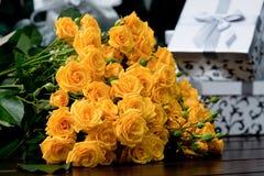 Żółte róże Obraz Royalty Free