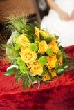 Żółte róże Fotografia Royalty Free
