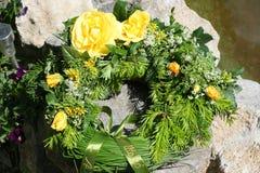 Żółte róże Obraz Stock
