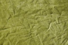 Żółtego koloru grungy tekstylna tekstura Zdjęcie Stock