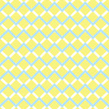 Żółtego szewronu bezszwowy wzór Zdjęcie Stock