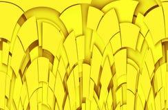 Żółty abstrakcjonistyczny tło Fotografia Stock