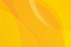 Żółty abstrakcjonistyczny tło wektor Obrazy Royalty Free