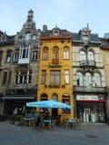 ŻÓŁTY budynek, GHENT, BELGIA Zdjęcie Royalty Free