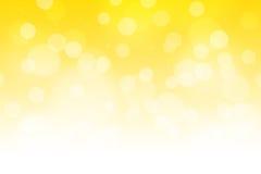Żółty Gradientowy tło Fotografia Royalty Free