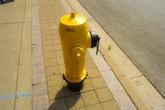Żółty hydranta Toronto śródmieście Fotografia Royalty Free